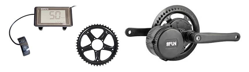 Kit moteur vélo bafang BBS