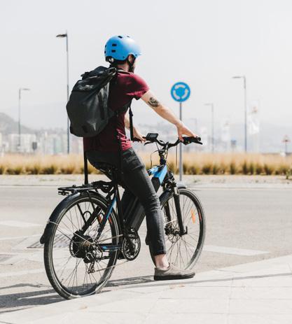 faire du vélo électrique pour garder la forme